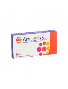 ANULETTE CD X28COM. | AraucoMed Farmacia Online