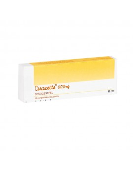 CERAZETTE (R) 0.075mg X28COM. | AraucoMed Farmacia Online