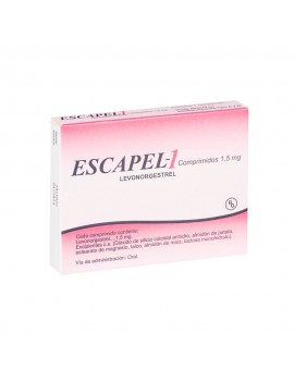 ESCAPEL-1 1.5mg X1COM. | AraucoMed Farmacia Online