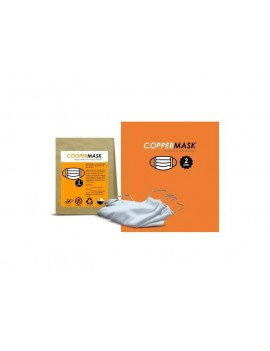 MASCARILLA ANTIBACTERIAL COBRE COPPERMASK X2 | AraucoMed