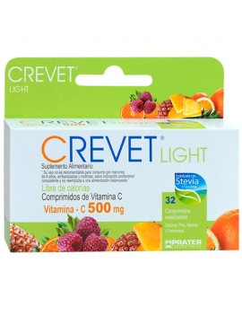 CREVET LIGHT 500MG x32COM | AraucoMed Farmacia Online