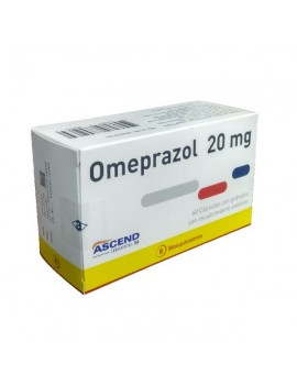 OMEPRAZOL (B) 20mg X60COM. (ASCEND) | AraucoMed Farmacia Online