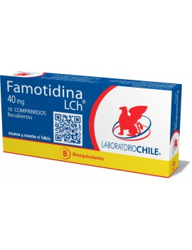 FAMOTIDINA 40mg X10COM. (CHILE) | AraucoMed Farmacia Online