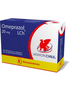 OMEPRAZOL (B) 20mg X30CAP. (CHILE) | AraucoMed Farmacia Online