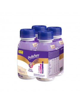 PEDIASURE COMPLETE LIQUIDO VAINILLA 237ML PACK X4 | AraucoMed