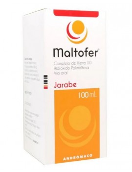 MALTOFER JARABE 50MG/5ML 100ML | AraucoMed Farmacia Online