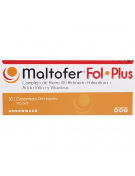 MALTOFER FOL.PLUS X30COM | AraucoMed Farmacia Online