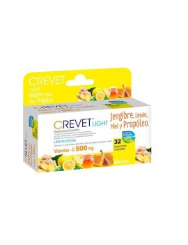 CREVET LIGHT JENGIBRE 500MG x32COM | AraucoMed Farmacia Online