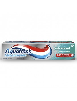 AQUAFRESH TRIPLE PROT. ADVANCED PASTA 125ML | AraucoMed