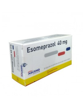ESOMEPRAZOL 40MG X30COMP (ASCEND) | AraucoMed Farmacia Online