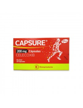 CAPSURE (B) 200MG X10 | AraucoMed Farmacia Online