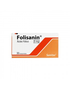 FOLISANIN 5mg X30COM. | AraucoMed Farmacia Online