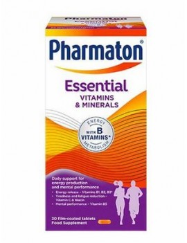 PHARMATON ESSENTIAL X30COM | AraucoMed Farmacia Online