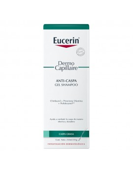 EUCERIN SHAMPOO EN GEL ANTICASPA 250ML | AraucoMed Farmacia