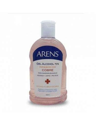 ARENS ALCOHOL GEL CON COBRE 500ML | AraucoMed Farmacia Online