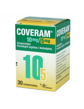 COVERAM 10/5 MG X30COM | AraucoMed Farmacia Online