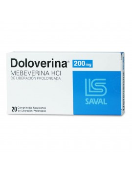 DOLOVERINA 200mg X20COM.REC. | AraucoMed Farmacia Online