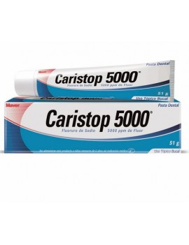 CARISTOP 5000 PPM PASTA DENTAL 51 G. | AraucoMed Farmacia Online
