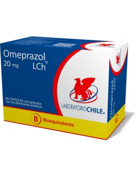 OMEPRAZOL (B) 20mg X60CAP. (CHILE) | AraucoMed Farmacia Online