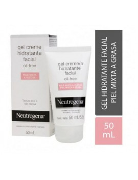 NEUTROGENA Gel Crema Facial Oil-Free Piel Mixta - Grasa 50mL |