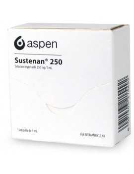 SUSTENAN SOLUCION INYECTABLE 250MG/1ML X 1AMP | AraucoMed