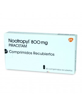 NOOTROPYL 800 MG X30COM | AraucoMed Farmacia Online