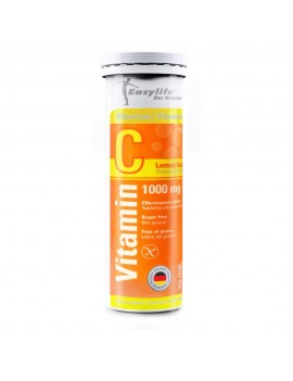 EASYLIFE VITAMINA C 1000MG EFERVESCENTE X10COM | AraucoMed
