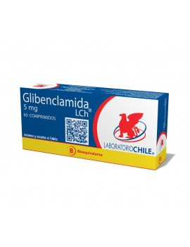 GLIBENCLAMIDA (B) 5mg X60COM. (CHILE) | AraucoMed Farmacia