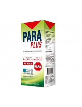 PARA PLUS CON PEINE 100ML | AraucoMed Farmacia Online