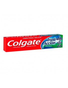 COLGATE TRIPLE ACCION PASTA DENTAL 99g | AraucoMed Farmacia