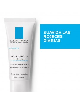 ROSALIAC UV LEGERE HIDRATANTE ANTI ROJECES 40ML | AraucoMed