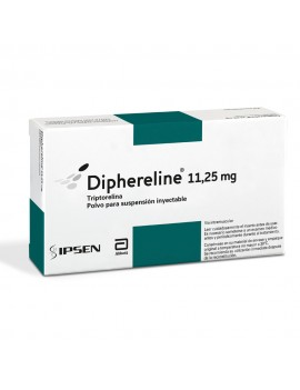 DIPHERELINE SUSPENSION INYECTABLE 11,25MG X1 | AraucoMed