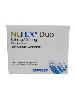 NEFEX DUO 0,5/0,4 MG X30CAP | AraucoMed Farmacia Online