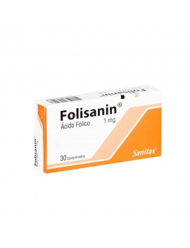 FOLISANIN 1mg X30COM. | AraucoMed Farmacia Online