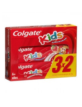 COLGATE KIDS GEL DENTAL FRESA 50G  3X2